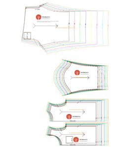 This is how the pattern in PDF looks like  You get 3 versions of the pattern:  1) A4 pages size by size with seam allowances 2) A4 pages all sizes together without seam allowances 3) A0 PDF in all sizes without seam allowances  #sewing #pattern #kids #pyjamas