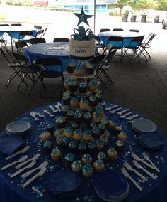 Cake and cupcake tower Bako