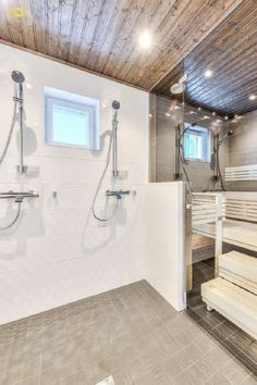 Sisustus - Kylpyhuone - Moderni - 54d8a4cc498ec414915c0ea4 - sisustus.etuovi.com Bathroom, Interior Design, Pretty Room, House, Laundry In Bathroom, Interior, Bathroom Renovation, Renovations, Home Decor