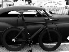 Black & Black. Urban. The Street. Style. Clean. Matted. Gear. Bicycle. Modern. Industrial. Special. Thick. Simple. Minimal. Rough. Quality. Bike.