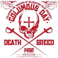 Provocative Columbus Day Artwork by Artist Gregg Deal - ICTMN.com