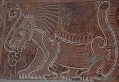 A mural of the Netted Jaguar - Teotihuacan