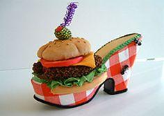 Robert Tabor's hamburgers shoes!!!!! very fascinating.