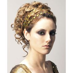 i chose to do this ancient Greece updo because its very elegant and since Athena is an Ancient Goddess it fits her time period. Greek Goddess Hairstyles, Grecian Hairstyles, Fancy Hairstyles, Wedding Hairstyles, Greek Hairstyles, Wedding Updo, Gossip Girl Hairstyles, Ball Hairstyles, Gorgeous Hairstyles