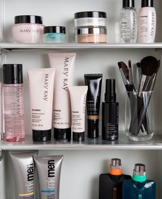 """marykay: """"Skin care and more for him and her! 💗 """""""