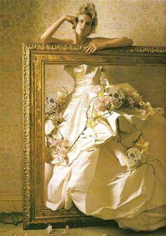 Photo ofStella Tennant by Tim Walker for Vogue Italia