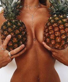 """19.8k Likes, 151 Comments - THE NAKED TIGER (@thenakedtiger) on Instagram: """"Pineapples  @khassaniswimwear @mathildtantot @balibody ⚡️⚡️"""""""