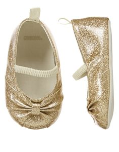 Glittering Gold Crib Shoes at Gymboree. if that isn't my future child, i don't know what is.