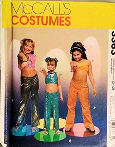 McCalls 3363 Girls Diva, Rock Star Costumes Sewing Pattern Size 3-4-5-6-8-10-12 McCall's http://www.amazon.com/dp/B00N3FT672/ref=cm_sw_r_pi_dp_nW6Wvb00S8ZNZ