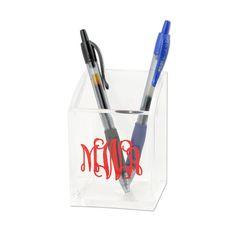 Acrylic Pen Cup