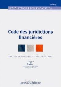 Code des juridictions financières 2009 -