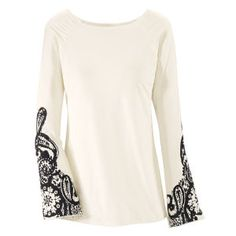 Nirvana Boat Neck Top - New Age, Spiritual Gifts, Yoga, Wicca, Gothic, Reiki, Celtic, Crystal, Tarot at Pyramid Collection