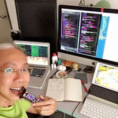 Banging my head on the keyboard  Time for a #chocolate bar #snack    #geek #nerd #ada #python #code  #programming #coding #software #softwareengineering #computer #development #tech #technology #startup #entrepreneur #hustle #hustler