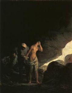 Brigand Stripping a Woman - Francisco Goya
