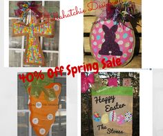 40% Off Easter Sale..... https://www.etsy.com/shop/TallahatchieDesigns?section_id=15971799&ref=shopsection_leftnav_1