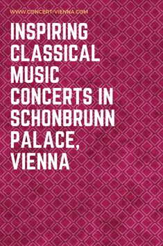 Attending a classical music concert is one of the things to do in Vienna Austria that you absolutely have to try! Tap this pin to reveal the best classical music concerts in Schonbrunn Palace in Vienna Austria and get ready for a life-changing experience. Best Classical Music, Classical Music Concerts, Music Music, Stuff To Do, Things To Do, Travel Around Europe, Austria Travel, Romantic Travel, Plan Your Trip