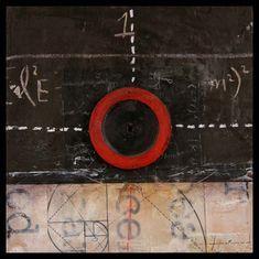 "justanothermasterpiece:    Graceann Warn, Observation 3, 10"" x 10"" mixed media assemblage."