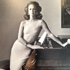 Beyond elegant #tbt Karen Graham for Estée Lauder @esteelauder