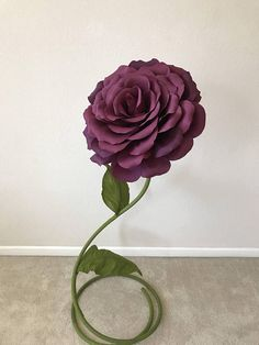 Free Standing Giant Paper Flower Self Standing Paper Flower
