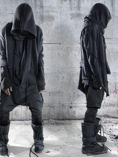 Demobaza AW12 Men (Kai's street clothes) menswear / avant garde