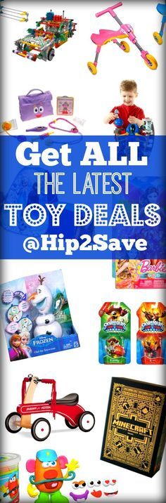 We reveal amazing toy deals from some of the largest online retails. Save on toys sold by Walmart, Amazon, Target and more. Discover more ways to save money at Hip2Save.com