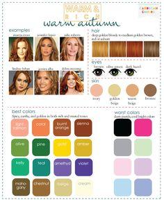 Cardigan Empire: Phoenix Fashion Stylist: Color Analysis: 3 Degrees of Warm  Rich