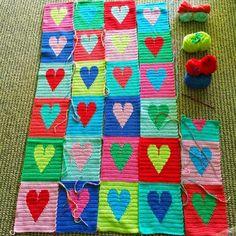 little woollie: #Crochet Hearts
