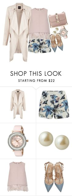 """""""Bugs Bunny"""" by chelsofly on Polyvore featuring ONLY, Ted Baker, Carolee, The 2nd Skin Co., Valentino, women's clothing, women's fashion, women, female and woman"""