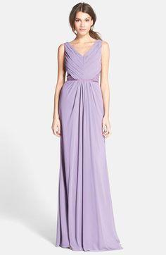"""Pin for Later: 50 Kleider für alle Gäste einer Hochzeit im Sommer Monique Lhuillier """"Bridesmaids"""" flieder-farbenes Kleid (290 €)"""