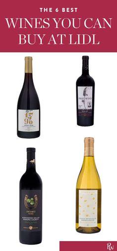 The 6 Best Wines You Can Buy at Lidl (and They're All Under $10) #purewow #wine:varietal:merlot #wine:varietal:pinot noir #wine:varietal:cabernet sauvignon #wine:region:united states #wine #wine:varietal:chardonnay #shopping #wine:varietal:petite sirah #food