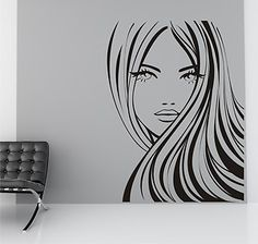 long haired girl Vinyl Wall Art / Graphic - Stickers Decals Vinyl Transfers | eBay http://www.ebay.co.uk/itm/long-haired-girl-Vinyl-Wall-Art-Graphic-Stickers-Decals-Vinyl-Transfers-/321163779216?pt=UK_Wallpaper&var=&hash=item76c666cfd7