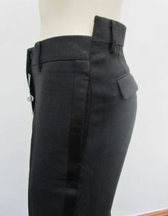 misaligned tuxedo trousers • martin margiela #NaaiAntwerp