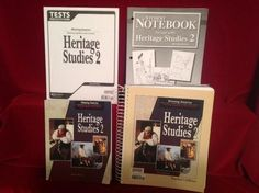 BJU Heritage Studies 2 Student Bk, Notebook, Tests, Teacher Ed 2nd Ed, Bob Jones #TextbookBundleKit