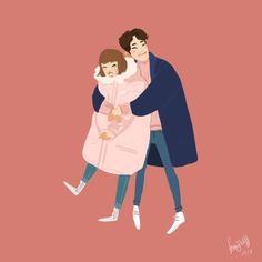This show was the purest thing I've ever watched and I adored every second of it. Cute Couple Drawings, Cute Drawings, Korean Art, Korean Drama, Kim Bok Joo Fanart, Weightlifting Fairy Wallpaper, Weightlifting Kim Bok Joo, Weighlifting Fairy Kim Bok Joo, Kim Book