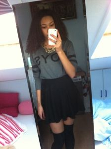 Her own #fashionstijl, #streetfashion, #kledingstijl, #bbfo