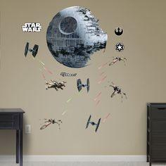 RealBig Star Wars, Death Star Battle Wall Decal