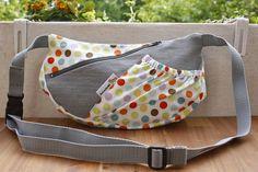 Nähanleitungen Taschen - eBook HipBag Hüfttasche selber Nähen Anleitung PDF - ein Designerstück von kaeselotti bei DaWanda