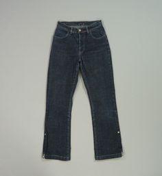 Pantalon jean denim stretch bleu foncé Teddy smith 26 femmes ou filles