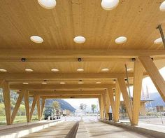 Special shaped glued laminated beam