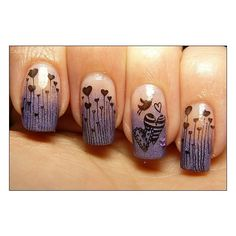 Fantastic Fingernails ❤ liked on Polyvore featuring nails