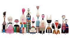 Dolls designed by Alexander Girard
