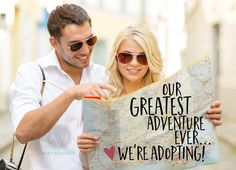 Adoption Announcements / Our Greatest Adventure by AMBABYBOUTIQUE