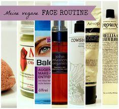 My vegan FACE ROUTINE *ONCE UPON A CREAM Vegan Beauty Blog*