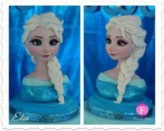 ♥ Queen Elsa - Frozen Cake #frozen