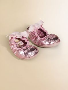 Juicy Couture baby ballet flats...ohh be still my heart!