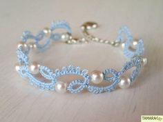 Craft ideas 10648 - Pandahall.com #bracelet #tattingbracelet #pandahall