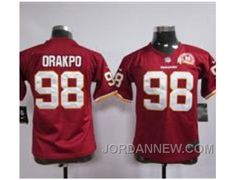http://www.jordannew.com/nike-youth-nfl-washington-redskins-98-brian-orakpo-red80th-red-jerseys-discount.html NIKE YOUTH NFL WASHINGTON REDSKINS #98 BRIAN ORAKPO RED[80TH RED JERSEYS] DISCOUNT Only $23.00 , Free Shipping!