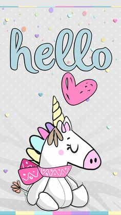 Unicornios Wallpaper, Girl Iphone Wallpaper, Hello Kitty Wallpaper, Animal Wallpaper, Cartoon Wallpaper, Unicorn Drawing, Unicorn Art, Cute Unicorn, Unicorns