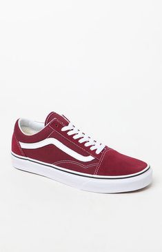 the best attitude 49099 6333a Old Skool, Athletic Shoes, Pacsun, Burgundy, Wine Red Hair, Training Shoes