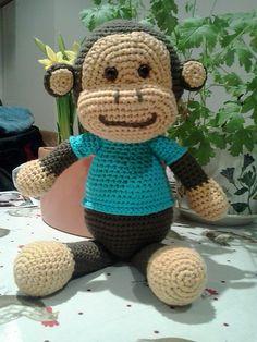 Jake the Playful Monkey: free pattern